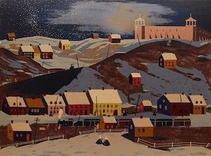 Artwork by Sydney Hollinger Watson, St. Lawrence Town, Quebec