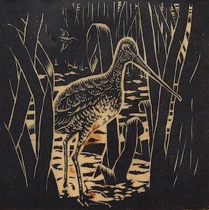 Artwork by Felix James  Shea , Bird Approaching