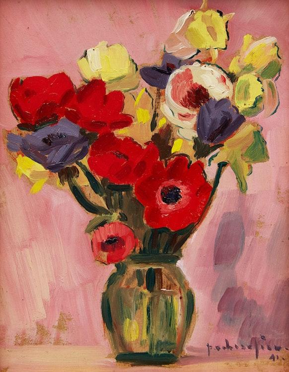 Artwork by Paul-Vanier Beaulieu,  Still Life with Flowers