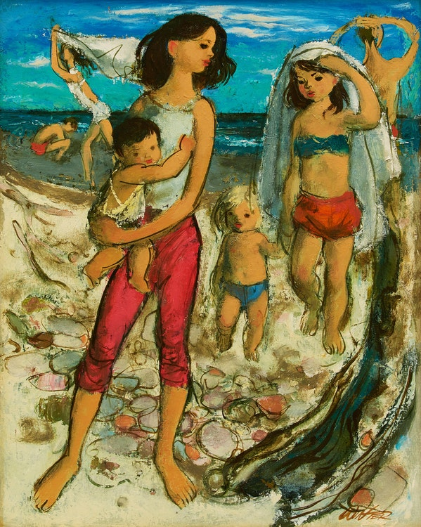 Artwork by William Arthur Winter,  Cherry Beach
