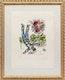 Thumbnail of Artwork by Marc Chagall,  Le Bouquet de l'artiste, 1964 [Mourlot, 410]