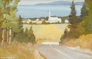 Artwork by Thomas Keith Roberts, Road to St. André