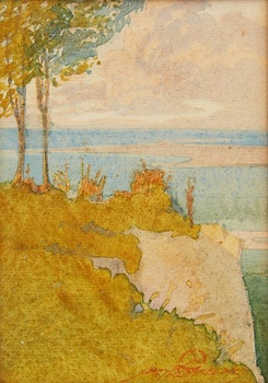 Artwork by James Blomfield, At Scarborough Bluffs, Evening Lights