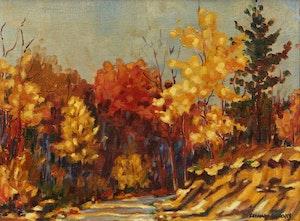 Artwork by Frank Leonard Brooks, Autumn