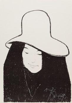 Artwork by Harold Barling Town, John Lennon; Yoko Ono