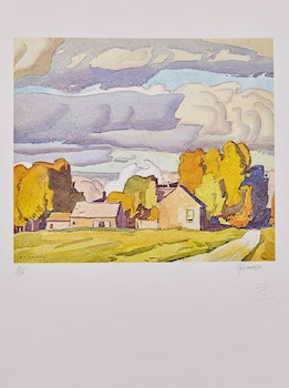 Artwork by Alfred Joseph Casson, 20 Sketches of Elora and Salem