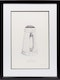 Thumbnail of Artwork by William Kurelek,  Large wooden pitcher for taking drinking water to fields