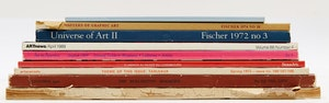 Artwork by  Books and Reference, Nine Reference Books & Journals of Canadian and International Art