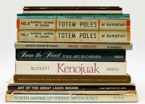 Artwork by  Books and Reference, Sixteen Indigenous and Inuit Art Reference Books
