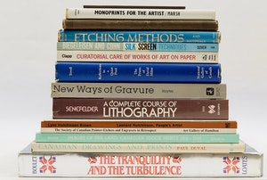 Artwork by  Books and Reference, Sixteen Print and Printmaking Reference Books