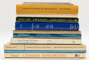 Artwork by  Books and Reference, Canadian Artist Reference Books and Periodicals