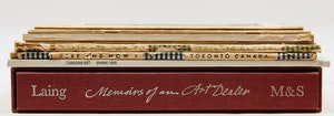 Artwork by  Books and Reference, Eight Canadian Art Reference Books and Periodicals