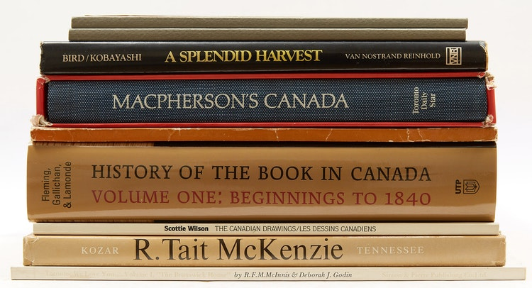 Artwork by  Books and Reference,  A Selection of Canadian Art Reference Books