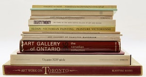 Artwork by  Books and Reference, Fourteen Canadian Art Exhibition Books and Catalogues