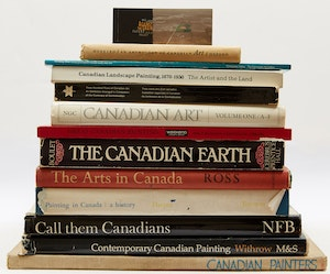 Artwork by  Books and Reference, Fourteen Canadian Art Reference Books