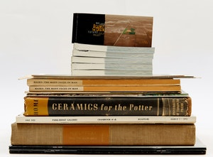 Artwork by  Books and Reference, Twenty-Two Sculpture and Ceramic Reference Books