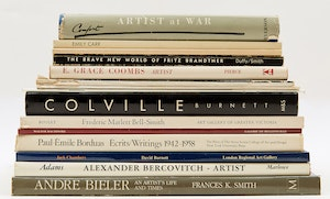 Artwork by  Books and Reference, Fifteen Canadian Artist Reference Books