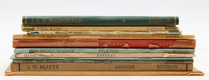 Artwork by  Books and Reference, A Selection of Robson & Ryerson Artist Books
