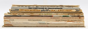Artwork by  Books and Reference, Sixteen Miscellaneous Canadian Art Magazines