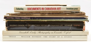 Artwork by  Books and Reference, Fourteen Canadiana Documents, Reference Books and a Map of the Toronto Water Supply System