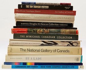 Artwork by  Books and Reference, Sixteen Canadian Art Reference Books