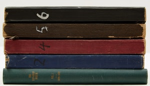 Artwork by  Books and Reference, Five Canadian Forum Journals