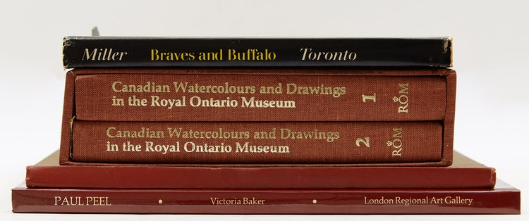 Artwork by  Books and Reference,  Historical Canadian Art Reference Books