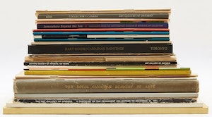 Artwork by  Books and Reference, Twenty-Nine Miscellaneous Canadian Art Reference Books and Catalogues