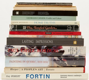 Artwork by  Books and Reference, Selection of Fourteen Canadian Art Reference Books