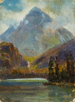 Artwork by  Canadian School, Mount Fitzwilliam, B.C.
