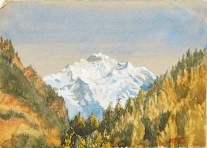 Artwork by  Canadian School, Mountain Landscape