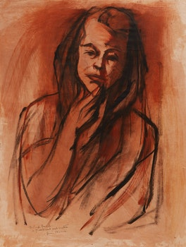 Artwork by Henri Leopold Masson, Portrait Study