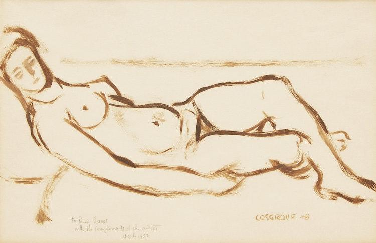 Artwork by Stanley Morel Cosgrove,  Reclining Nude
