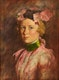 Thumbnail of Artwork by Kenneth Forbes,  Portrait of a Young Girl