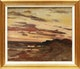 Thumbnail of Artwork by Laura Adeline Lyall Muntz,  Coastal Scene, Sunset, 1921