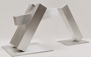 "Artwork by Kosso Eloul, Maquette for ""Meeting Place"""