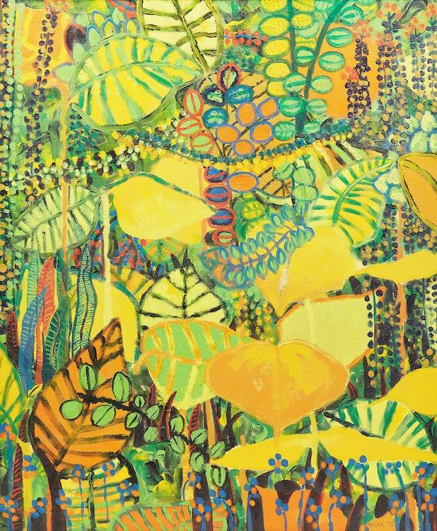 Artwork by Karen Kulyk,  Foliage