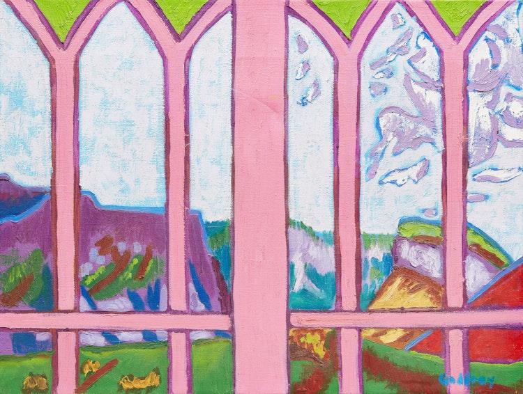 Artwork by John Godfrey,  Provence