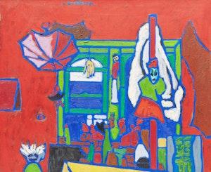 Artwork by John Godfrey, John's Studio, Queen Street