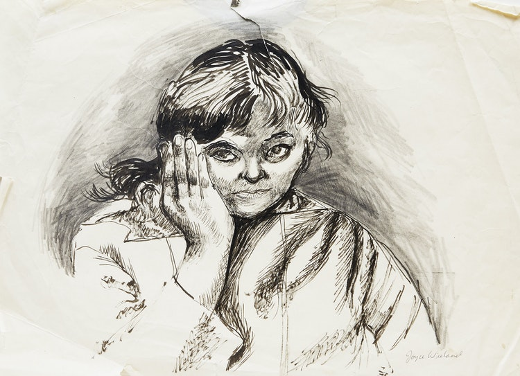 Artwork by Joyce Wieland,  Self Portrait