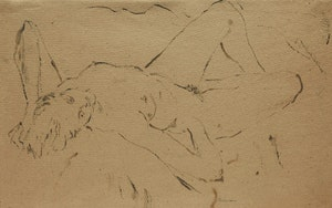Artwork by William Redgrave, Reclining Nude
