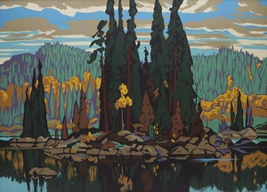 Artwork by Arthur Lismer, Isles of Spruce