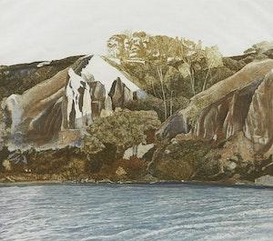 Artwork by Harriet Wolfe, Scarborough Bluffs