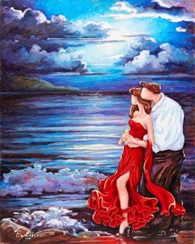 Artwork by Lise Lacaille, Quelle belle vie !!!