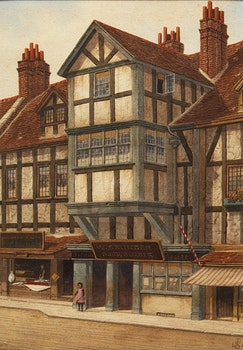 Artwork by James Lawson Stewart , In the Village
