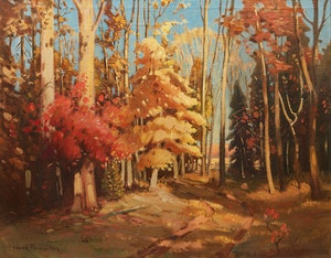 Artwork by Frank Shirley Panabaker, Fall in Dundas