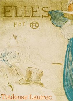 Artwork by Henri de Toulouse- Lautrec, Pair of Books: Elles; Elles par Toulouse Lautrec