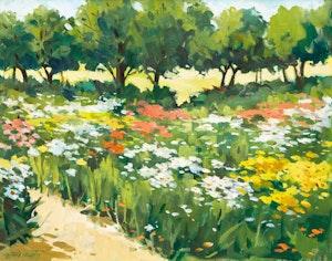 Artwork by Frank Nemeth, M. Zékany Jardin Fleuriste