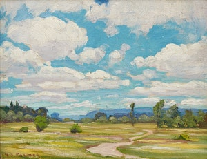 Artwork by Herbert Sidney Palmer, Pastoral Landscape