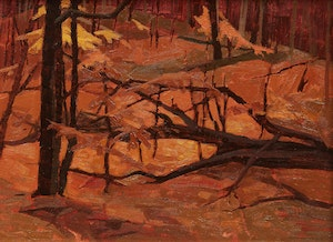 Artwork by Alan Caswell Collier, Near Rockingham, Madawaska Valley Ont.